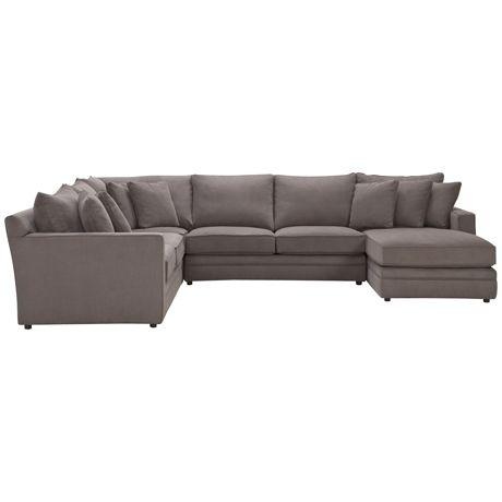 Andersen MKII Modular 2.5 Seat Right Hand, Corner, 2.5 Seat (Armless) & Chaise Left Hand Napa Bark freedom $4399