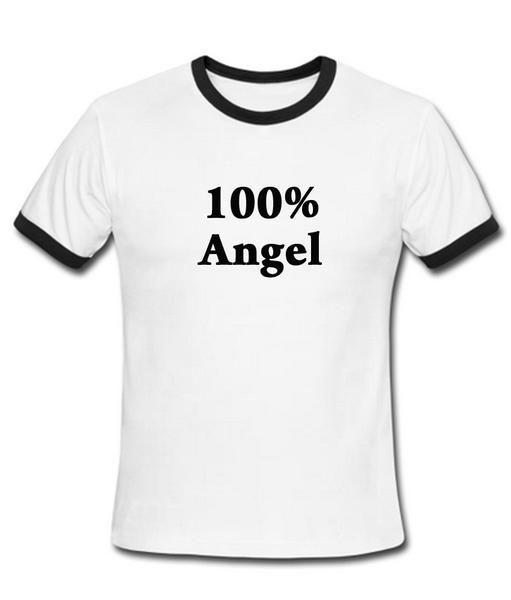 100% angle ringer t shirt