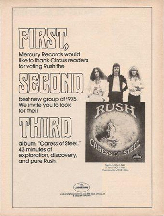 "Rush 2112 lyrics | Caress Of Steel"" linernotes and lyrics from Power Windows"