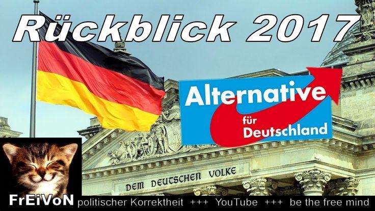 AfD * RÜCKBLICK 2017 * Politik für Deutschland