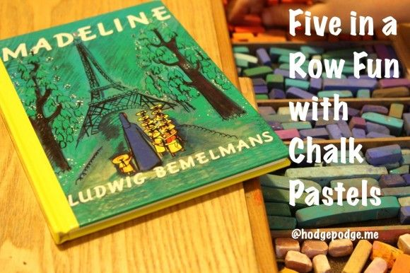 Madeline Chalk Pastel Fun - Hodgepodge