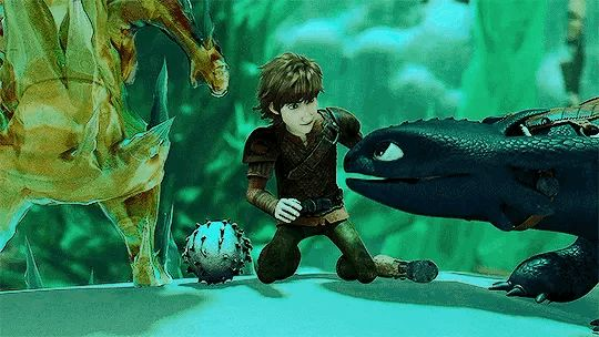 Hiccup and Toothless. WHY DID THIS SHOW HAVE TO END?!?!?!? IT WAS FREAKING AMAZING!!!!!!!
