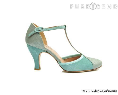 Chaussures vert menthe femme eVFbmRdO