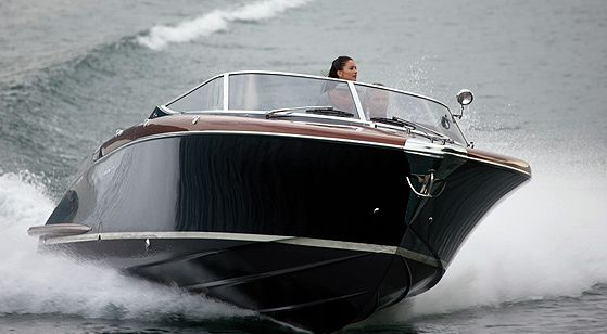 The Riva Aquarama was a speedboat model built by Italian yachtbuilder Riva. Production ran for over three decades from Aquarama's introduction in 1962 till 1996. Carlo Riva launched the Aquarama runabout series in 1962. Aquarama's hull was based on Riva Tritone – an earlier model speedboat by Riva. Because of the boats speed, beauty and craftmanship behind it Aquarama was praised as the Ferrari of the boat world.