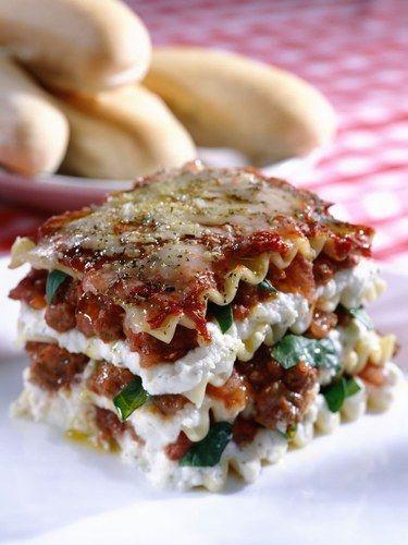 20 receitas de macarrão - Lasanha italiana