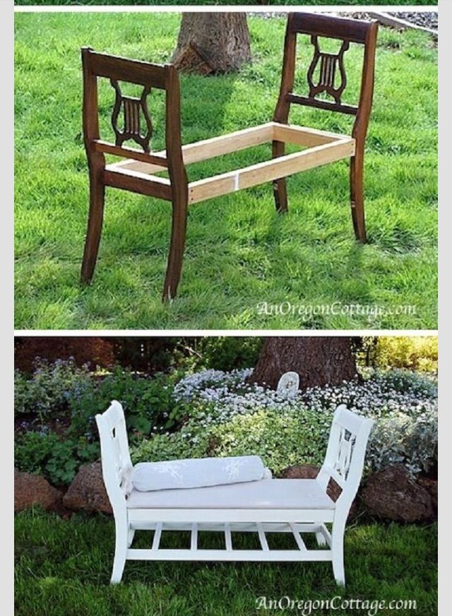 I'll never look at those ugly dining chairs the same, ever again