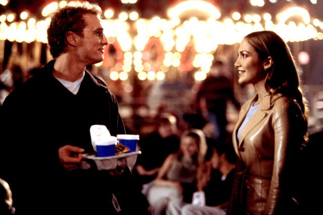 The Wedding Planner....Matthew McConaughey  , of course <3