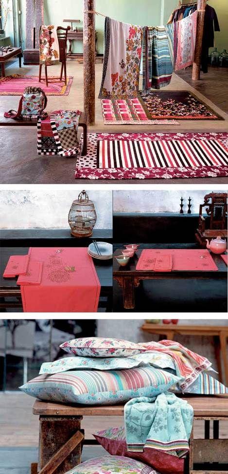 Kenzo Maison } Textiles