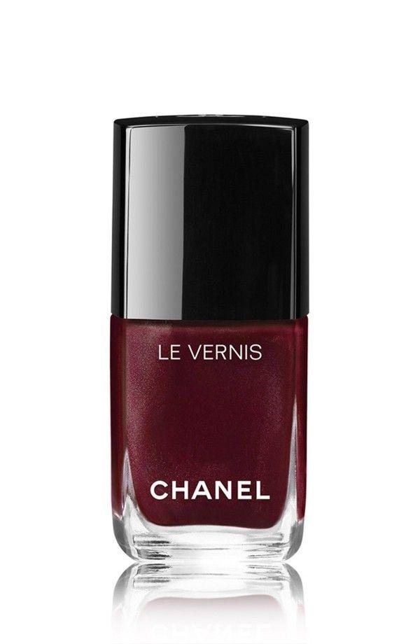 Bordeaux Chanel polish.