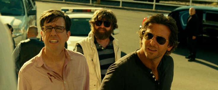 Two new photos from The Hangover 3 with Bradley Cooper, Ed Helms, Zach Galifianakis  Ken Jeong
