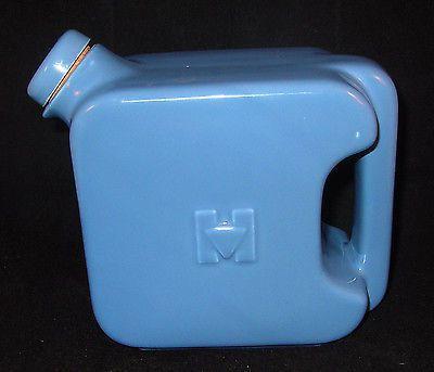 vintage Hall China Hotpoint Refrigerator Walter Saver Original cork Blue pitcher