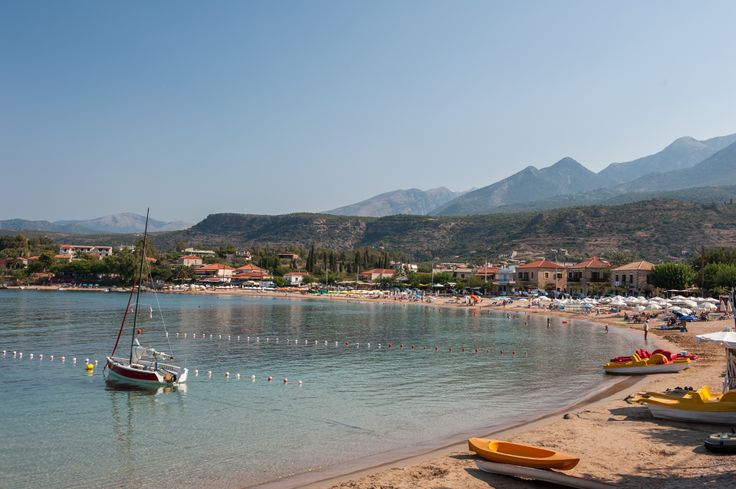 The beach at Stoupa is the most popular yet not overcrowded. #beaches, #landscape, #greekislands, #greece, #hdrphotography, #hdr,#stoupa, #messinia,