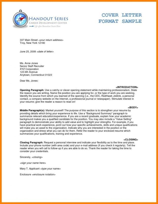27 Cover Letter Enclosure Cover Letter Enclosure Example Letter