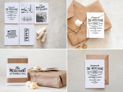 The Merchant branding