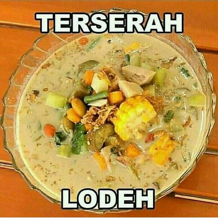 Terserah Humor Makanan Masakan Meme