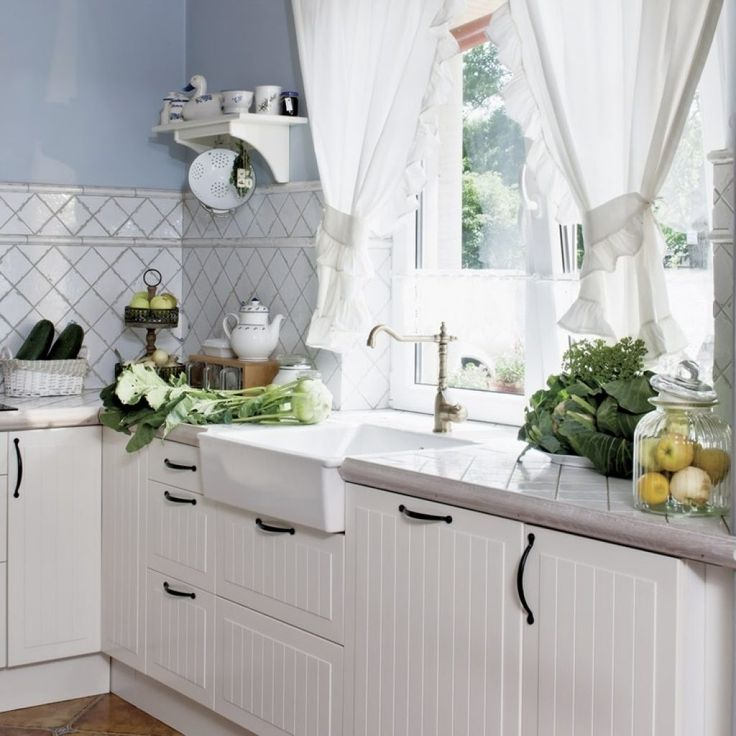 Country Cottage Kitchen Curtains: 25+ Best Ideas About Country Kitchen Curtains On Pinterest