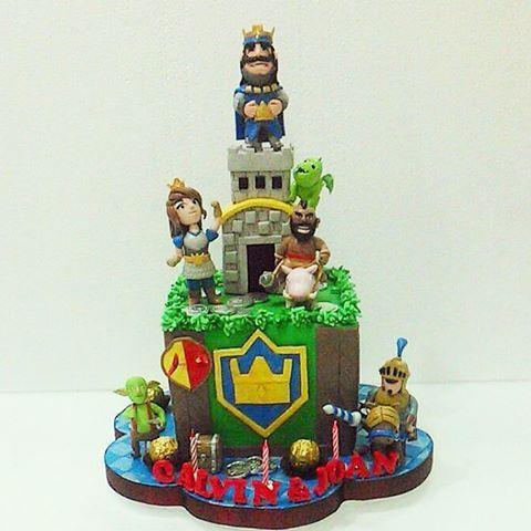 תוצאת תמונה עבור clash royale cakes