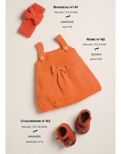 Modèle Robe CB14-42- Patron tricot gratuit