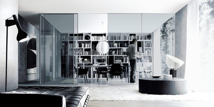 ... arredamento casa e ufficio - porte_scorrevoli - Rimadesio  Pinterest