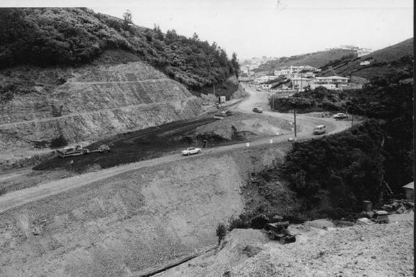 Johnsonville,Wellington, New Zealand 1950s - Newlands road 1964