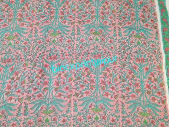 jaipuri printed fabric indian cotton block print fabric Hand Block Print Cotton Loose Fabric,cotton block print fabric,voile cotton fabric