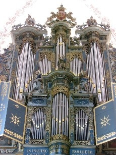 1997 Marcussen pipe organ at St. Mary's Church, Elsinore, Denmark