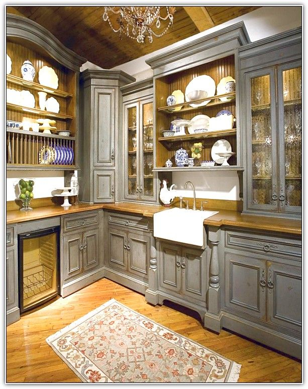 image result for upper corner kitchen cabinet ideas - Upper Corner Kitchen Cabinet Ideas