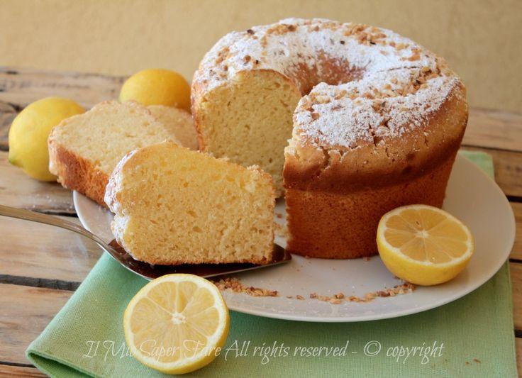 Pan di limone ricetta torta da forno facile il mio saper fare