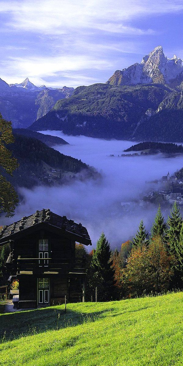 Berchtesgadener Land ~ Bavaria, Germany; what an amazing view!