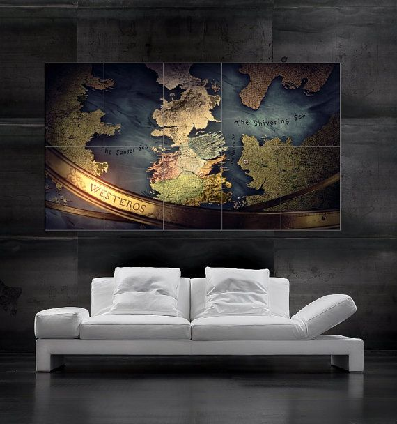 game of thrones wall maps