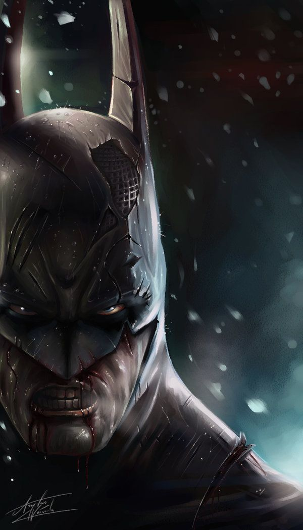 Batman by TheNekow  #comic #art