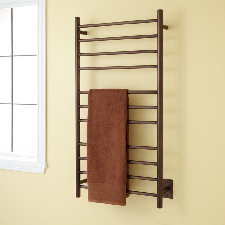 warmrails regent wall mounted towel warmer rack heated hot water bed bath beyond hardwired