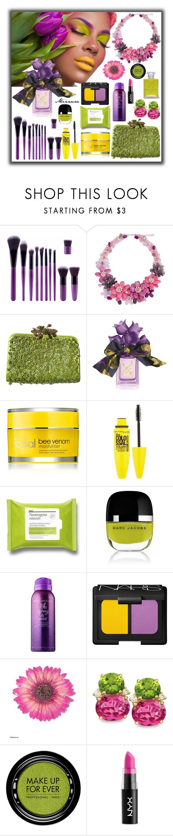 """""""Spring Gifts"""" by mizzura ❤ liked on Polyvore featuring beauty, NOVICA, Valentino, Vera Wang, Rodial, Maybelline, Marc Jacobs, Bumble and bumble, NARS Cosmetics and MAKE UP FOR EVER"""