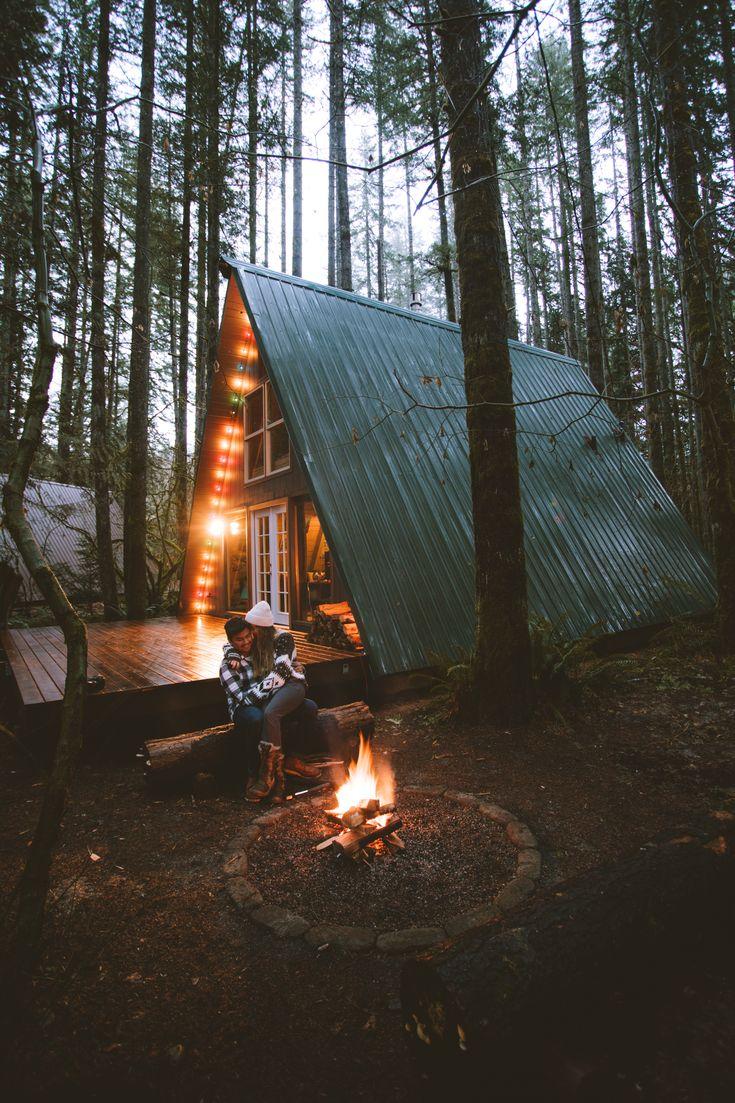 Best 25 a frame cabin ideas on pinterest a frame house for Tye river cabin co