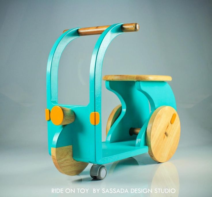 Kids wooden Ride on toy (2012) By sassada design