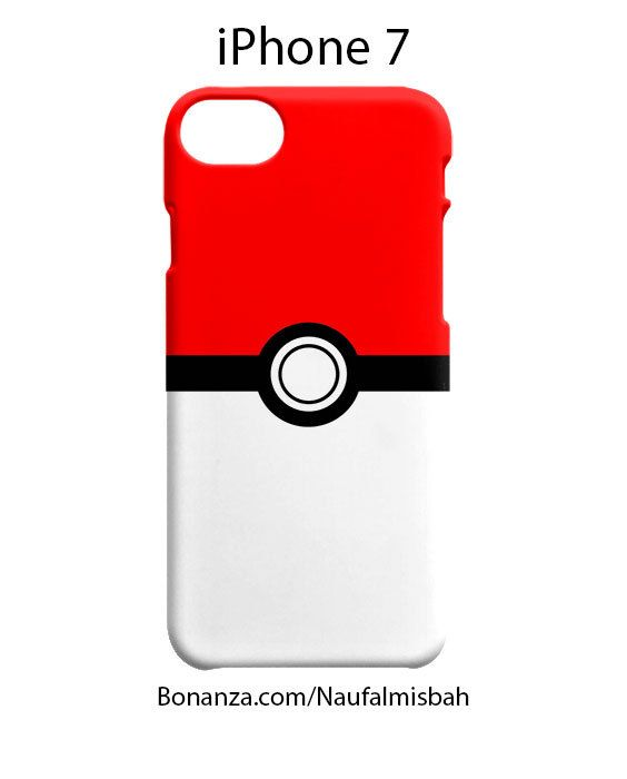 Pokemon Pokeball GO iPhone 7 Case Cover Wrap Around