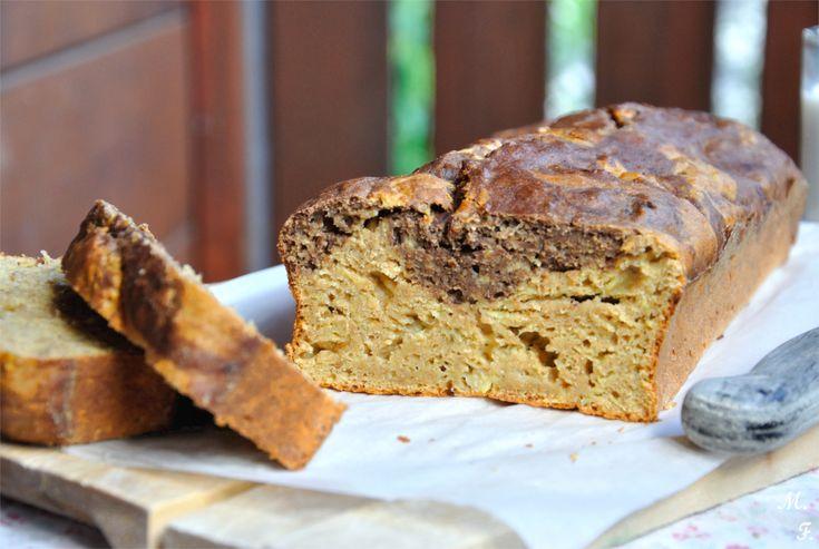 Bananenbrot ganz ohne Zucker und Butter - der wohl gesündeste Kuchen der Welt!