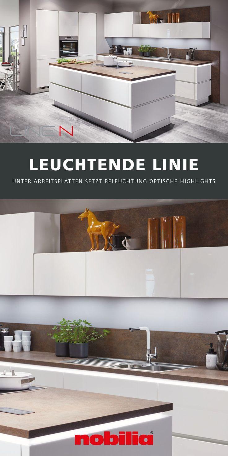 Flash 450 Weiss Hochglanz Moderne Kuchen In 2020 Moderne Kuche Kuchenprodukte Kochinseln