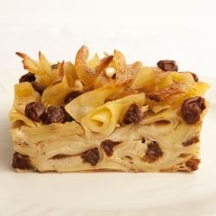 Grandma Ricky's Noodle Kugel - Every Jewish Grandma makes her own version of kugel.  Our recipe maven Mariko's Grandma Ricky is no exception. Full of eggs, and filled with raisins, her kugel makes for a very rich, and very delicious treat for the High Holidays.
