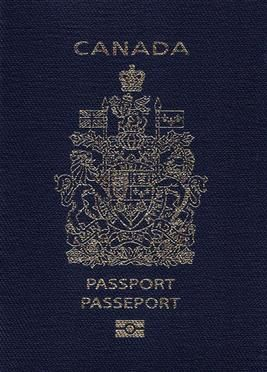 Canadian Passport ----- and my first overseas stamp will be Scotland!  :)