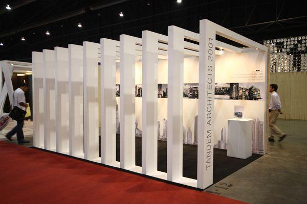 Exhibition Design for TANDEM ARCHITECTS at ASA2011 by Jan Mantanakorn Ngoenwilai, via Behance