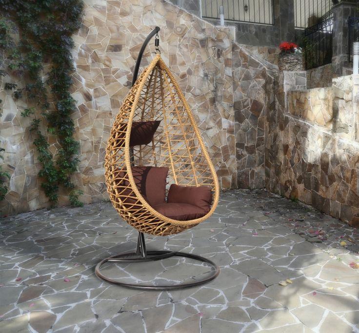 Плетеное подвесное кресло AURA