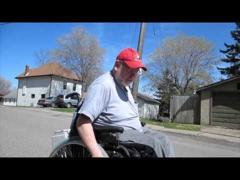 Craig's new power assist wheels-  LIKE IT! SHARE IT!