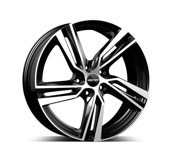 Arcan Black Diamond Alloy wheel / Cerchio in lega leggera Arcan Nero Diamantato Side