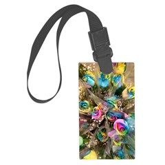 Gay Bouquet Large Luggage Tag