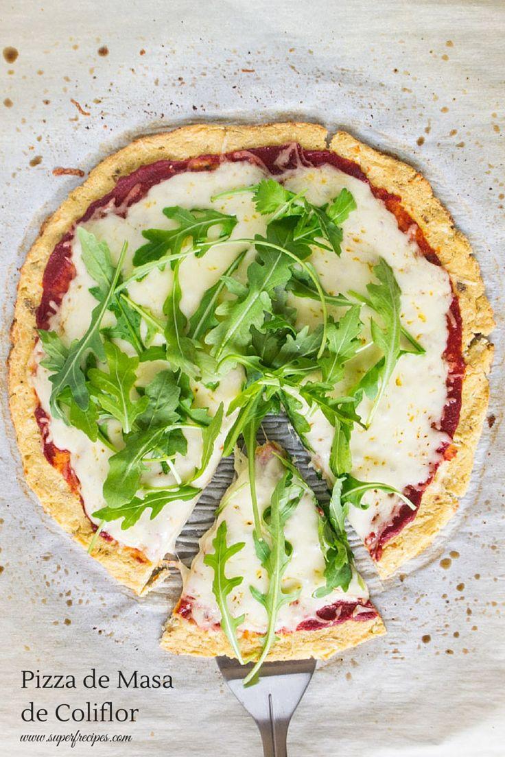 Pizza de Masa de Coliflor