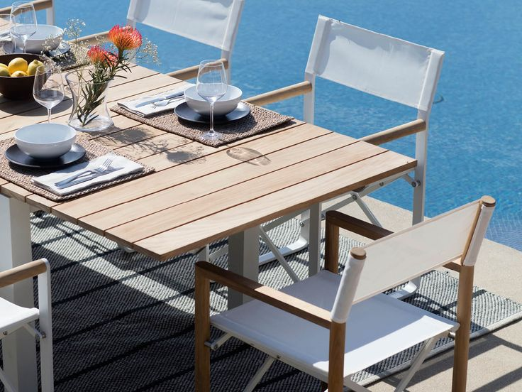Introducing, the Harbour Pacific Collection. A coastal, modern design, the Harbour Pacific Collection combines thick, removable arms, which creates custom sections of your choice. Robust, solid, and heavy duty, this brand new teak range can mold to any outdoor living space with ease. #HarbourOutdoor #PacificCollection #DawsonandCo #Outdoorfurniture #CoastalLiving
