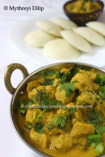 Mealmaker Kurma( Soy Chunks Curry) http://chettinadrecipesblog.blogspot.com.au/2013/07/soya-chunks-curry-meal-maker-kurma.html
