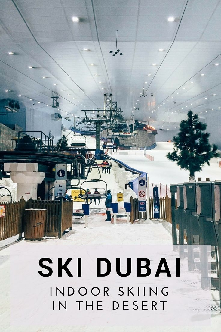 A review of Ski Dubai, the Middle East's only indoor ski resort - Two Nomads One World
