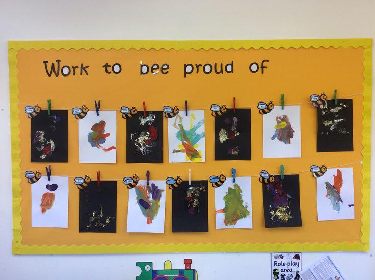 Bees Classroom Children's Work Display | Classroom wall ...
